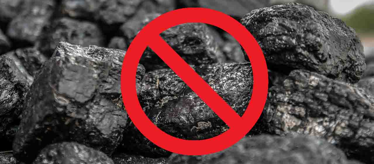 No Coal Graphic