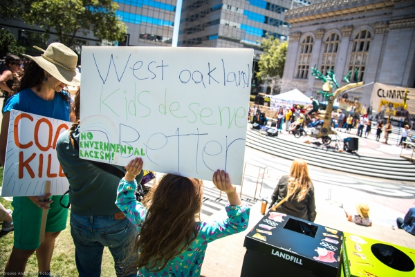 West Oakland Kids Deserve Better Photo: Brooke Anderson