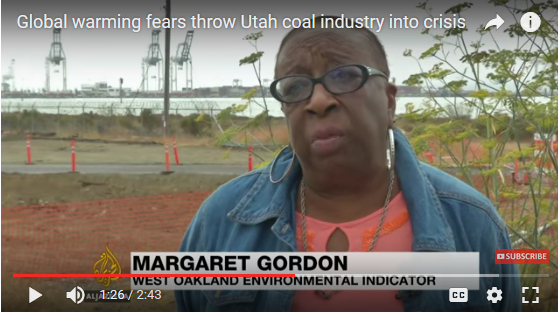 Ms. Margaret Gordon, WOEIP, interviewed by Al Jazeera English (2017-02-03)