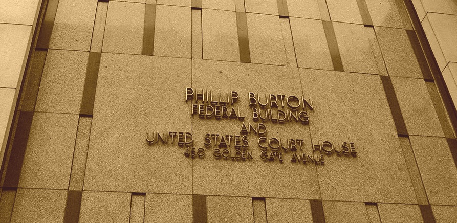 Philip Burton Federal Building and U.S. Courthouse - Photo: Sam Wheeler CC BY-SA 3.0