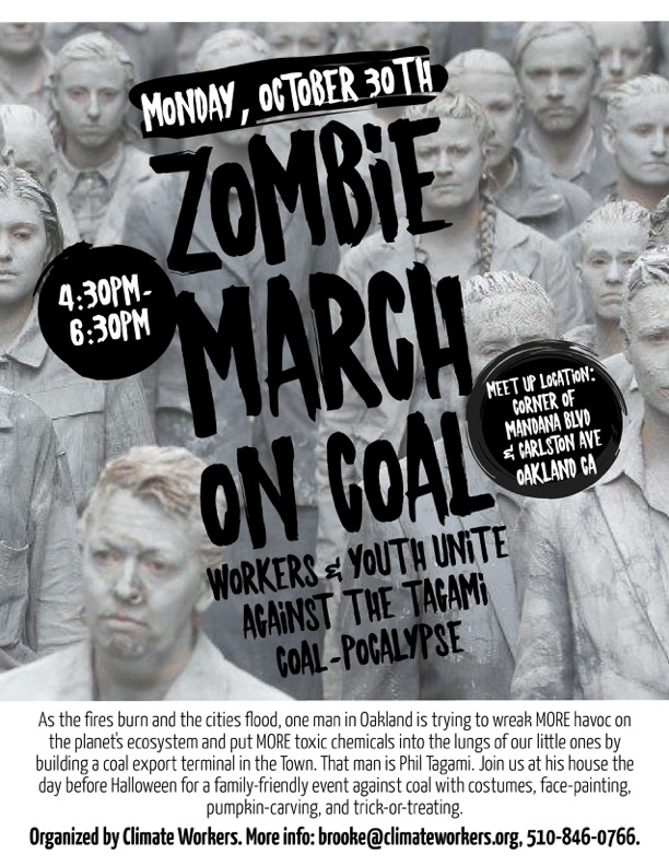 Zombie March Poster
