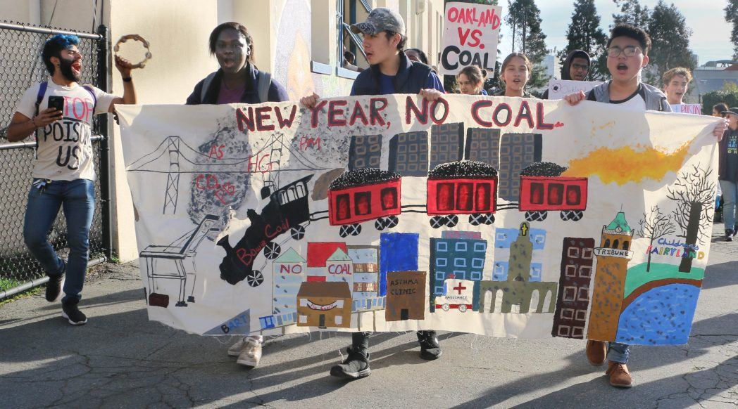 Youth March Against Coal - 2018-01-31. Photo credit: Rhonesha Victor.