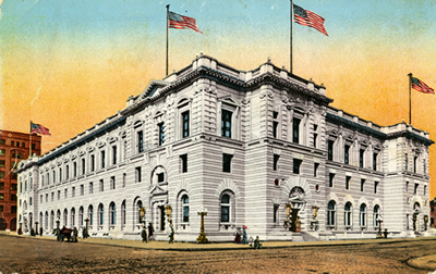 Ninth Circuit San Francisco Courthouse Circa 1905