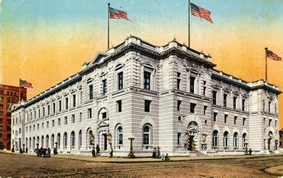 Ninth Circuit San Francisco Courthouse Circa 1905