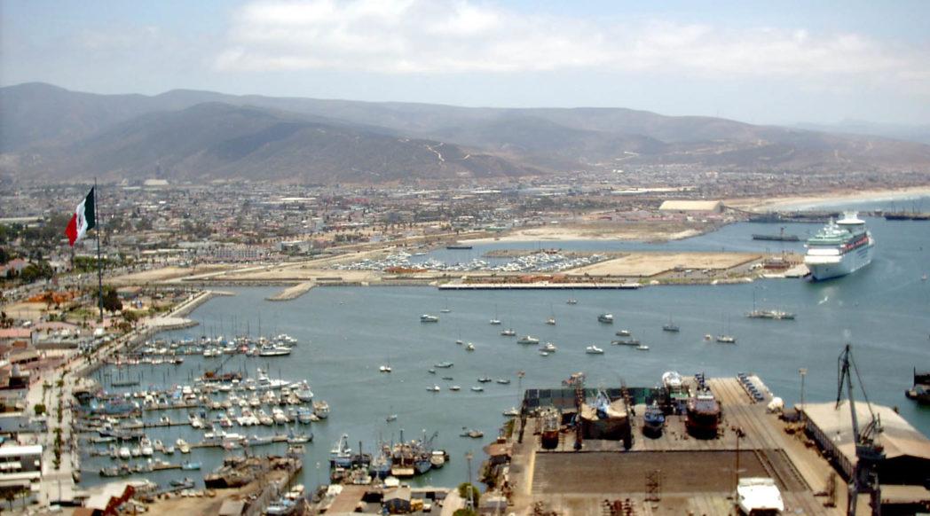 Port of Ensenada, Baja California, Mexico