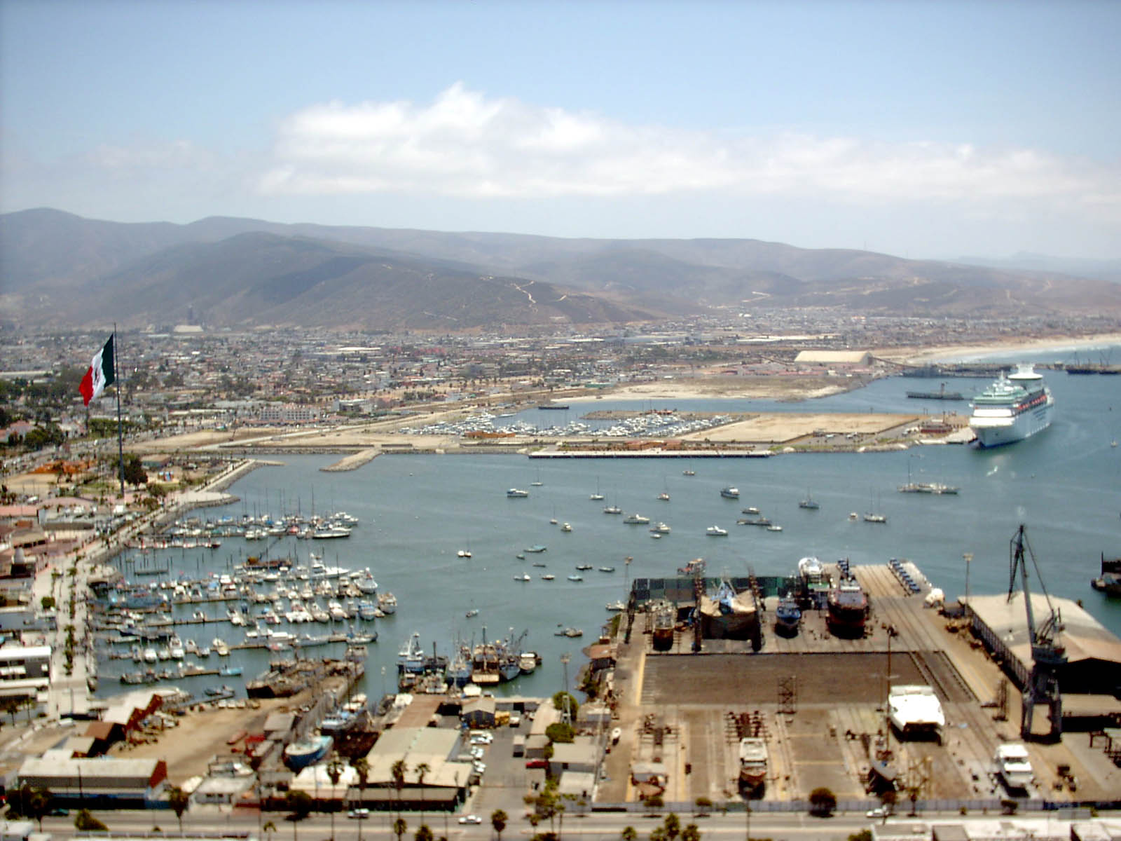 Port of Ensenada, Baja California, Mexico