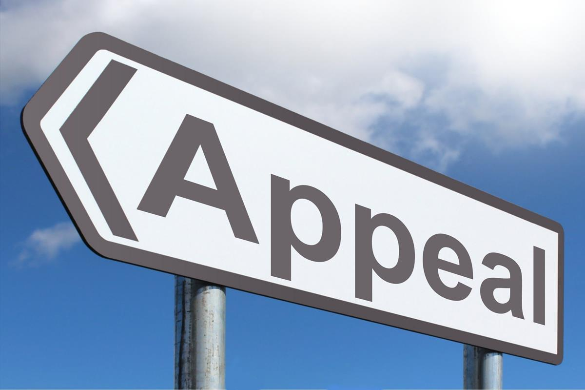 Appeal Road Sign by Nick Youngson CC BY-SA 3.0 Alpha Stock Images