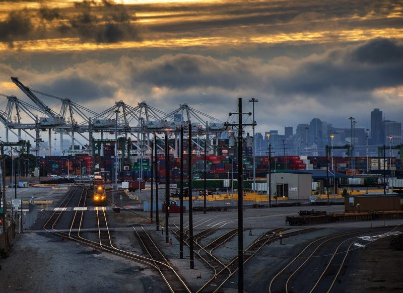 'Port of Oakland 'Round Midnight' | Russell Mondy CC BY NC 2.0